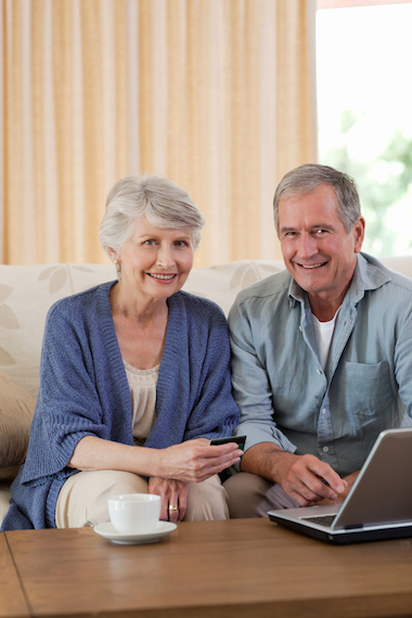 Retired couple getting equity release